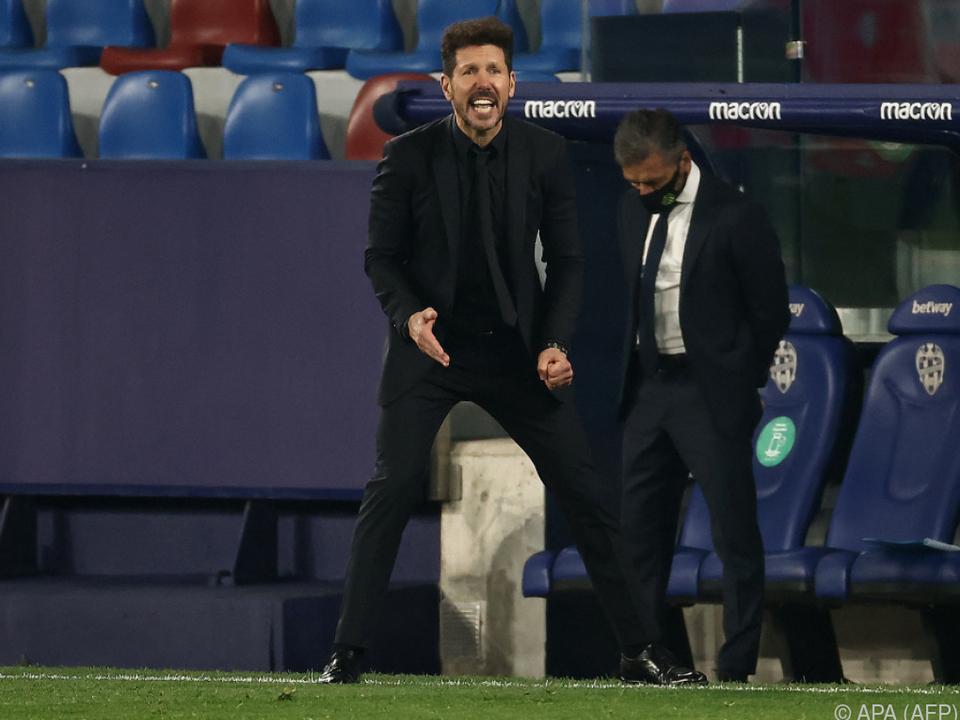 Atletico und Simeone lassen bei Levante Punkt liegen