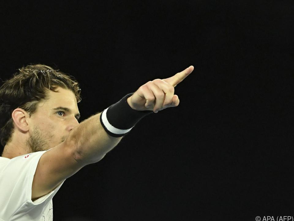 Aufwärts geht es mit Dominic Thiem - Er kämpft um Viertelfinale