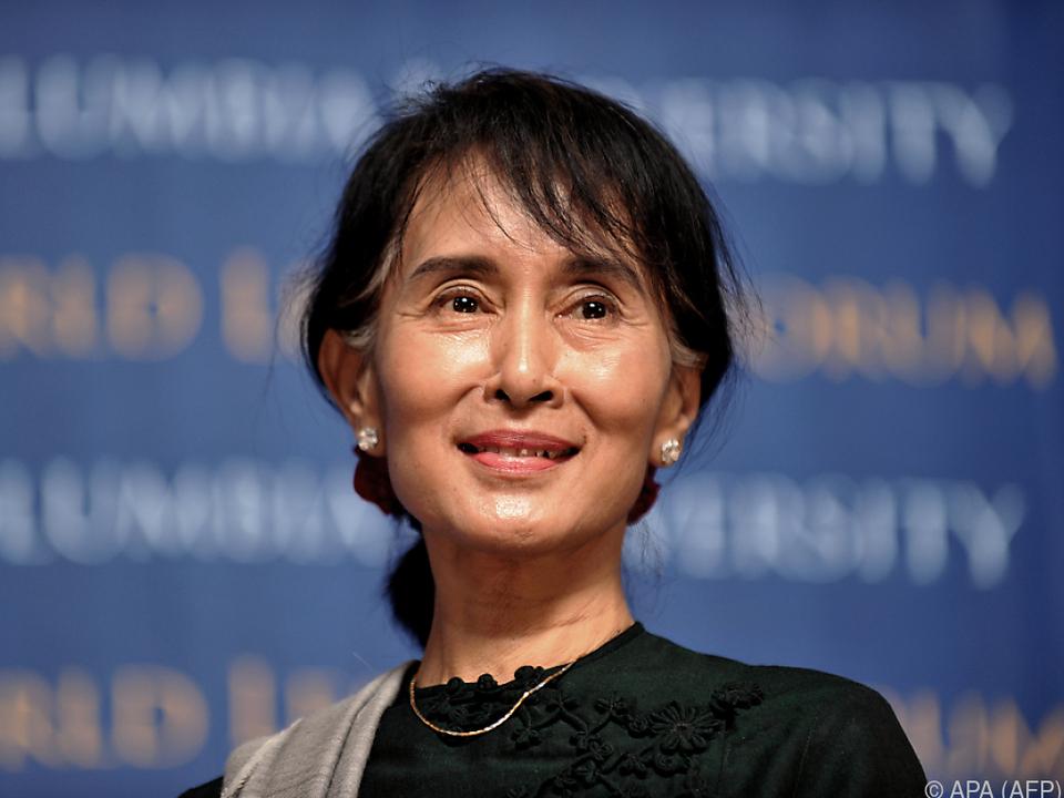 Aung San Suu Kyi wurde beim Militärputsch in Myanmar festgenommen