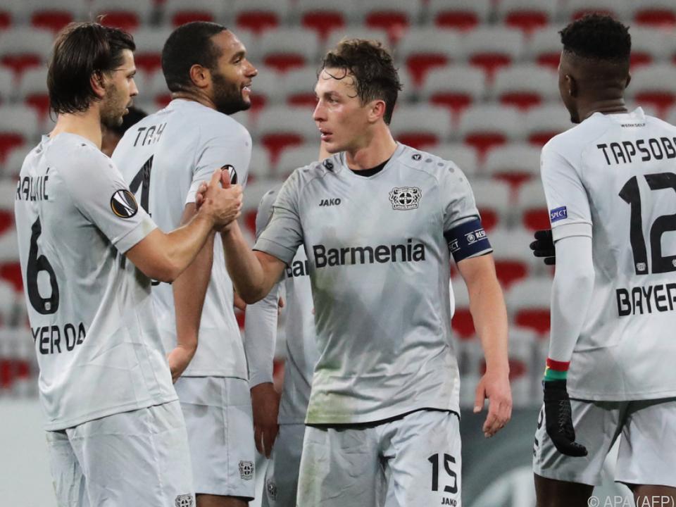 Baumgartlinger bleibt Leverkusen treu