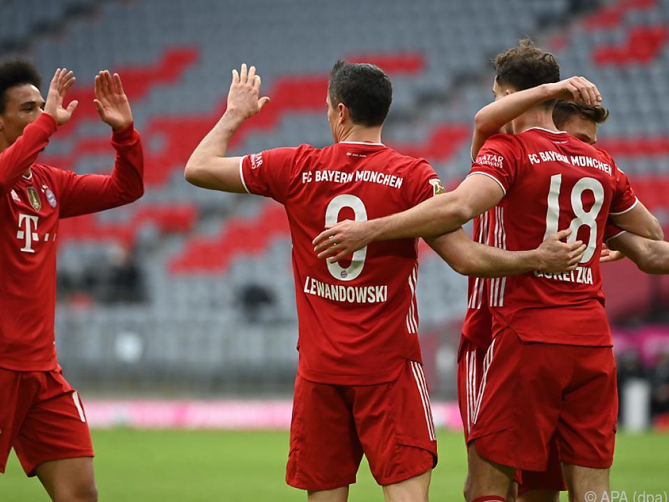 Bayern feierten Pflichtsieg gegen Köln