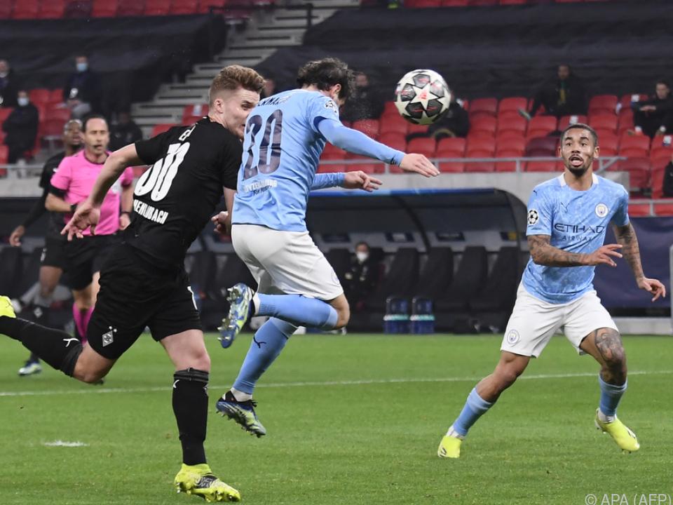 Bernardo Silva traf gegen Gladach per Kopf