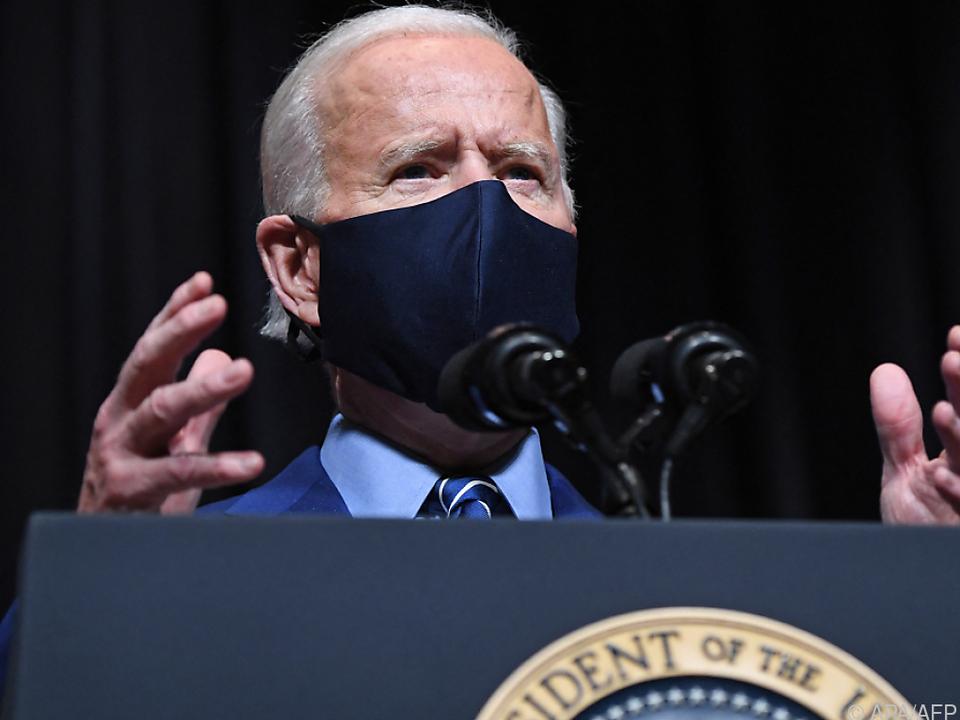 Biden kritisiert erneut Trumps Corona-Mangagement