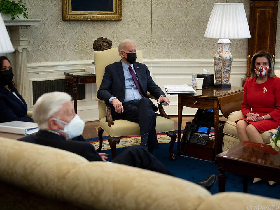 Biden will überparteiliche Einigung zu Corona-Hilfspaket