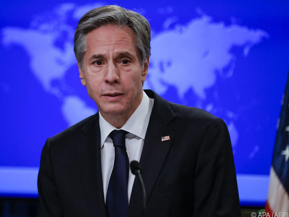 Blinken berät mit europäischen Außenminister über Iran
