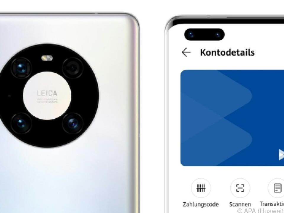 Bluecode kommt auf Huawei-Smartphones
