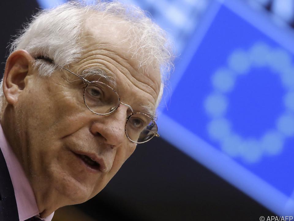Borrell fordert hartes Vorgehen gegen Moskau