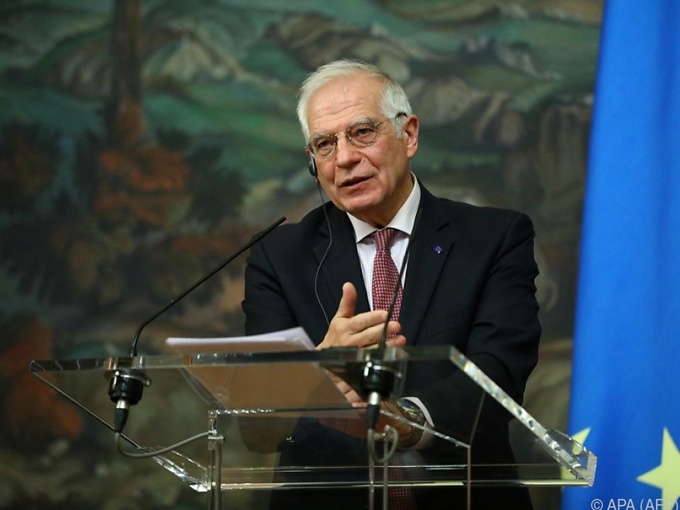 Borrell will nach EU-Reaktion auf sein Moskauer Fiasko