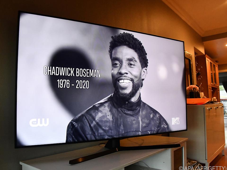 Chadwick Boseman verstarb mit 43 Jahren an Krebs
