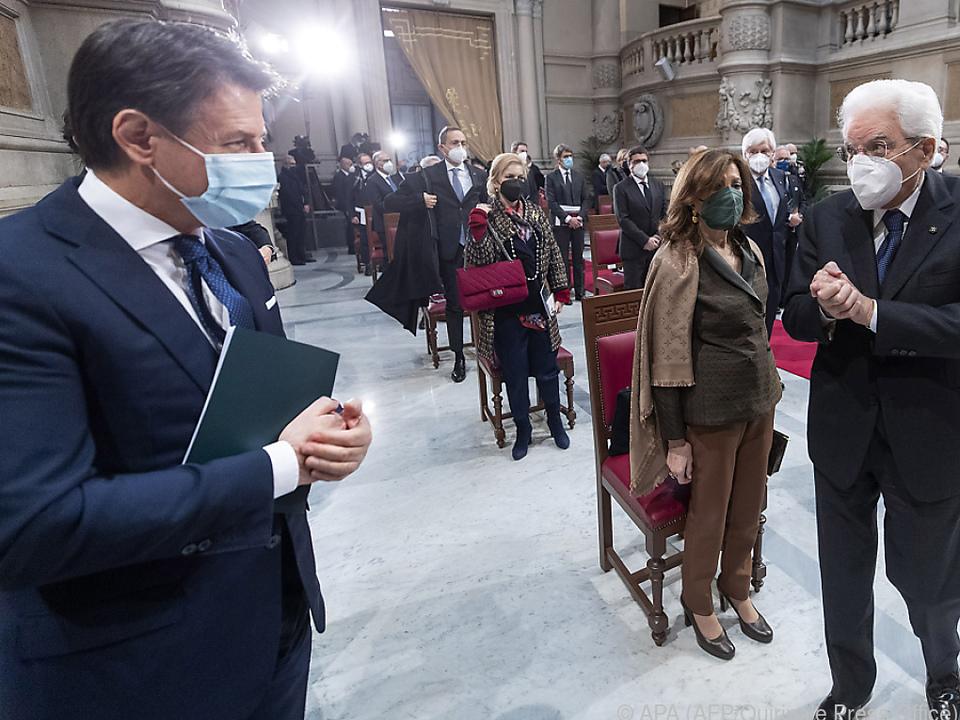 Conte hofft auf dritte Amtszeit