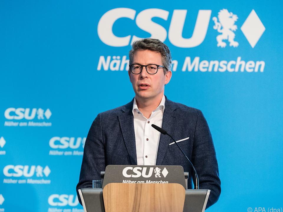 CSU-Generalsekretär Blume empört über Österreich (Archivbild)