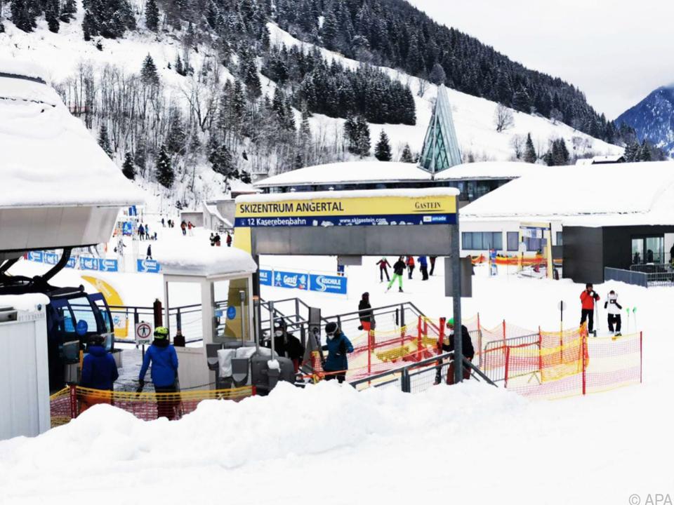 Das Angertal in Bad Hofgastein hat nur am Wochenende offen