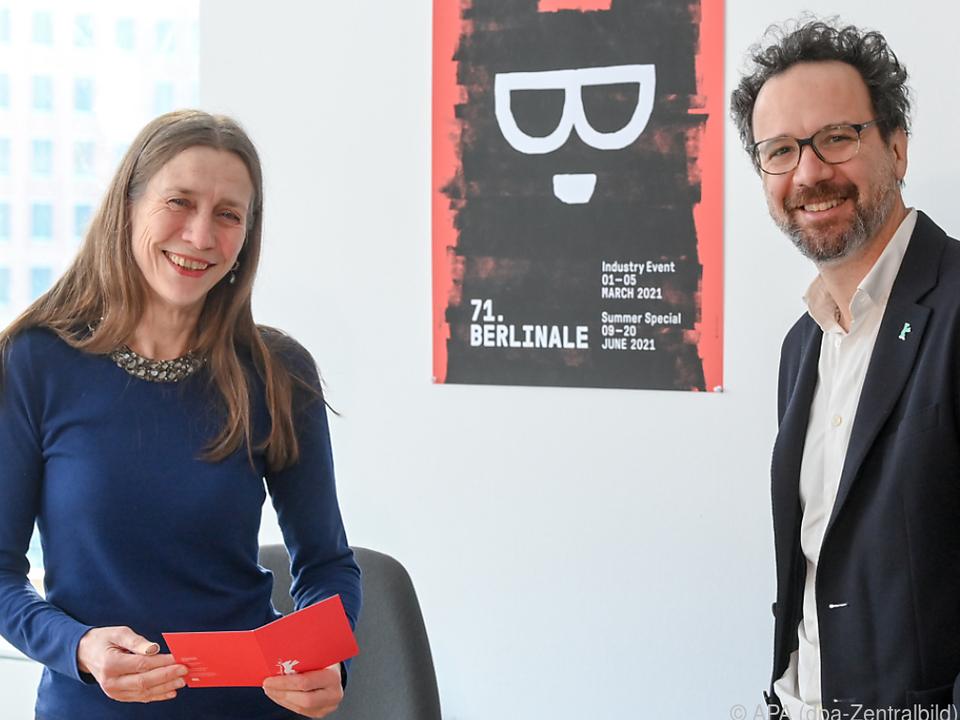 Das Leitungs-Duo der Berlinale, Mariette Rissenbeek und Carlo Chatrian