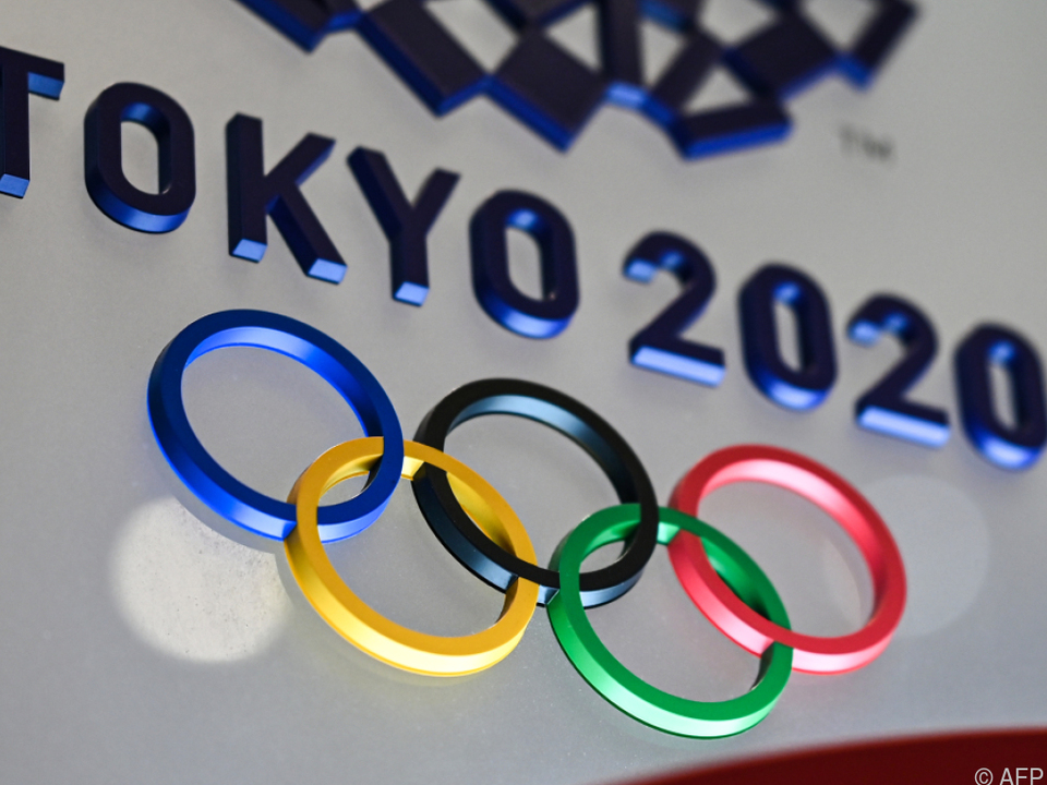 Das Logo bleibt: Tokio 2020 soll 2021 stattfinden