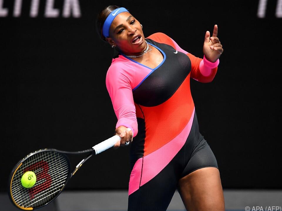 Das Outfit von Serena Williams erregte mehr Aufmerksamkeit als ihre Leistung