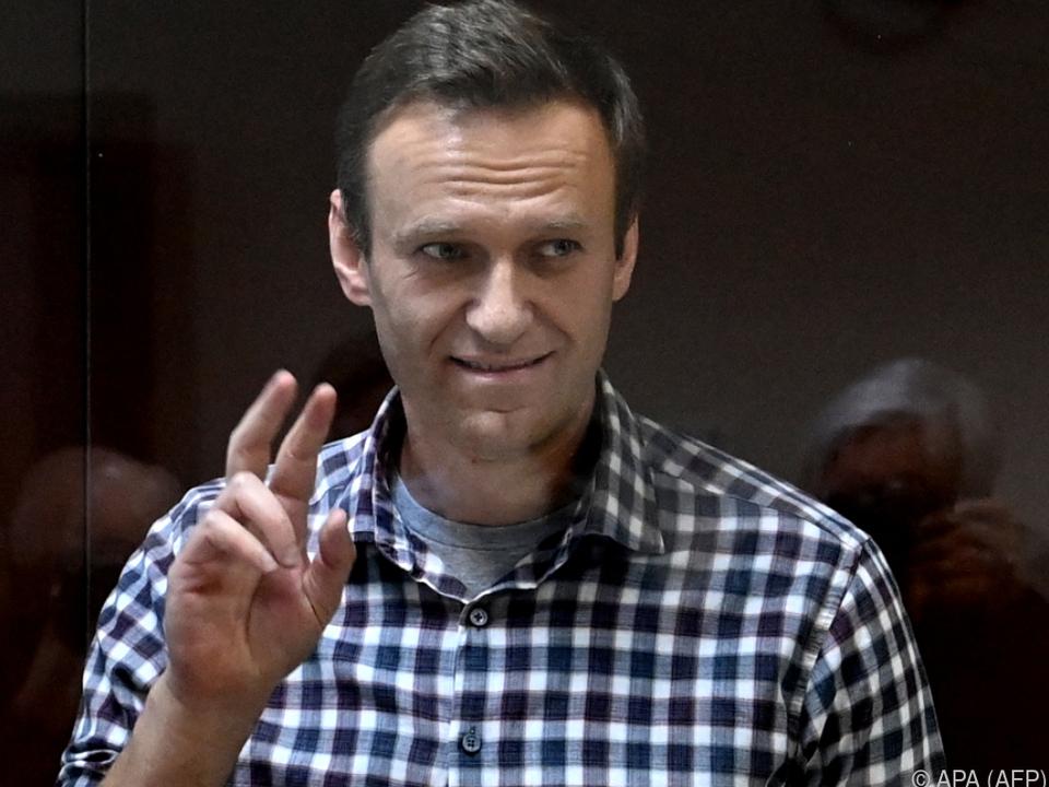 Das Urteil gegen Nawalny wird im Westen heftig kritisiert