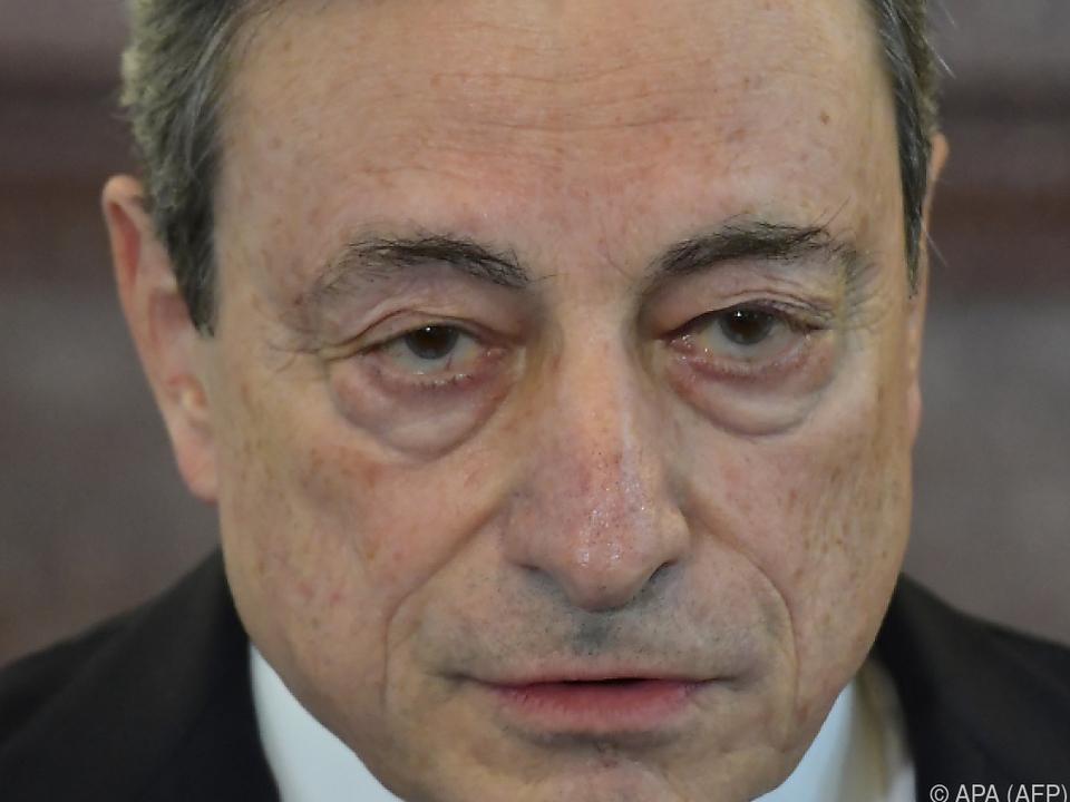 Der frühere EZB-Präsident braucht stabile Mehrheit Parlament