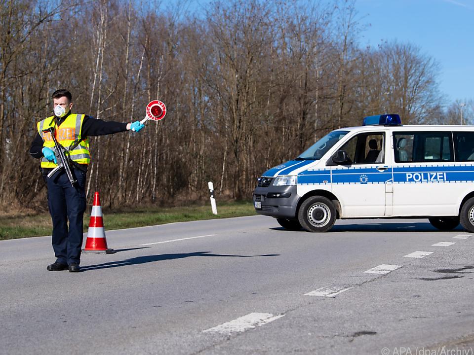 Deutschland macht an den Grenzen ernst