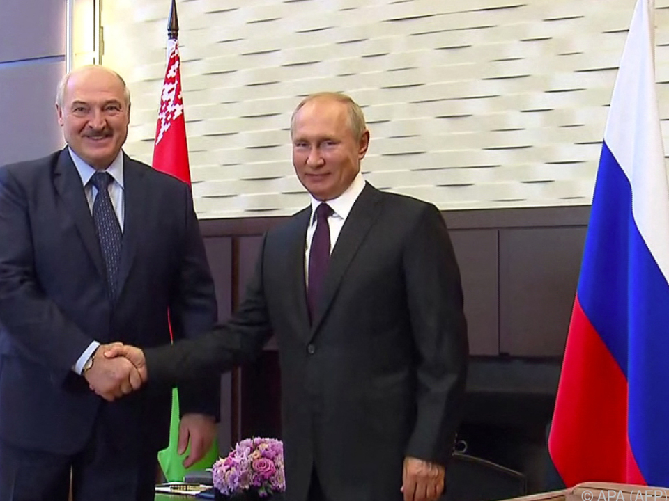 Die beiden Treffen sich zu Gesprächen in Sotschi