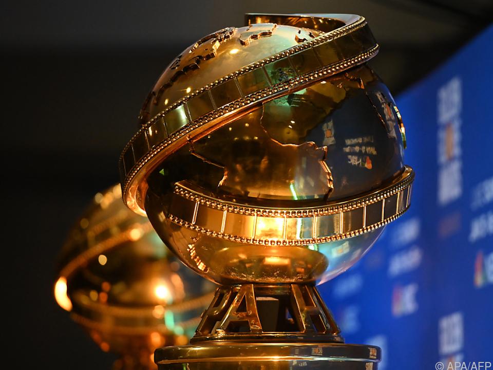 Die heiß begehrten Golden-Globe-Trophäen werden vergeben