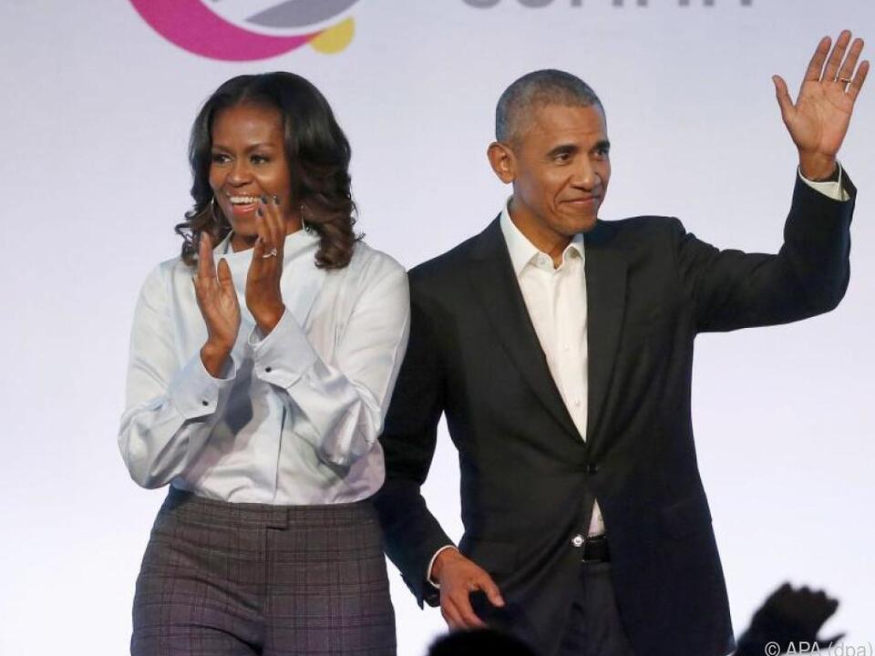 Die Obamas sind in der Filmbranche aktiv