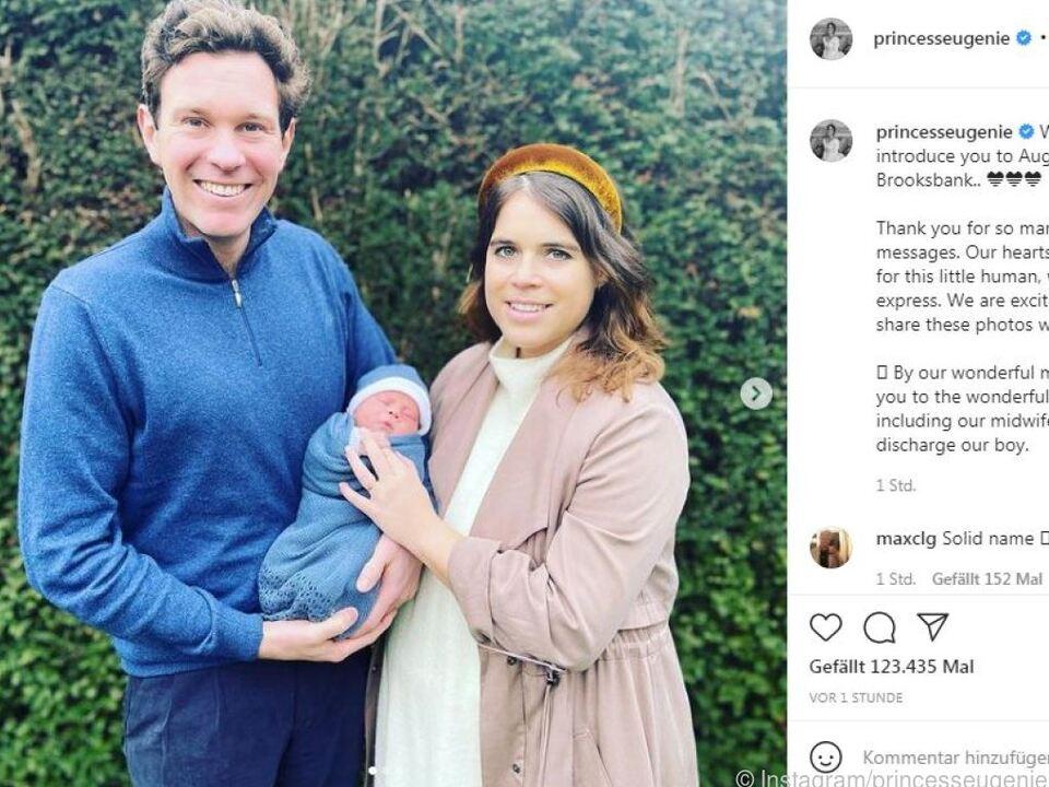 Die Prinzessin postete ein Familienfoto auf Instagram