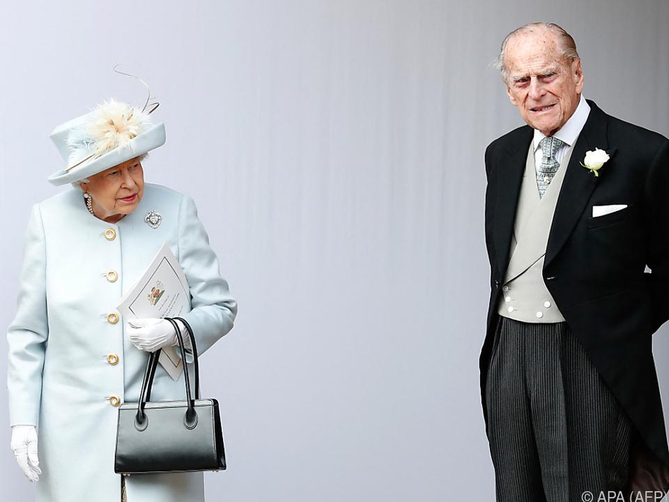 Die Queen und Prinz Philip wurden bereits geimpft