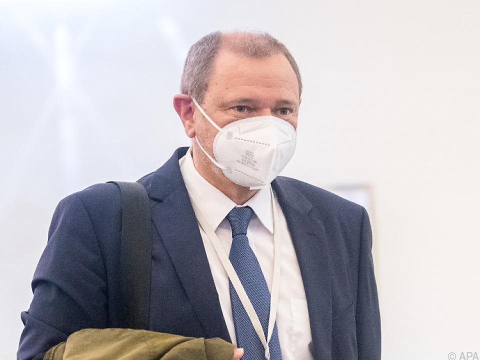 Dietmar Halper im U-Ausschuss