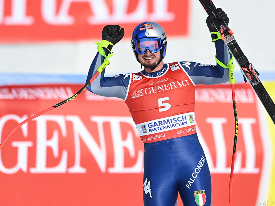 Dominik Paris gewann Weltcup-Abfahrt in Garmisch