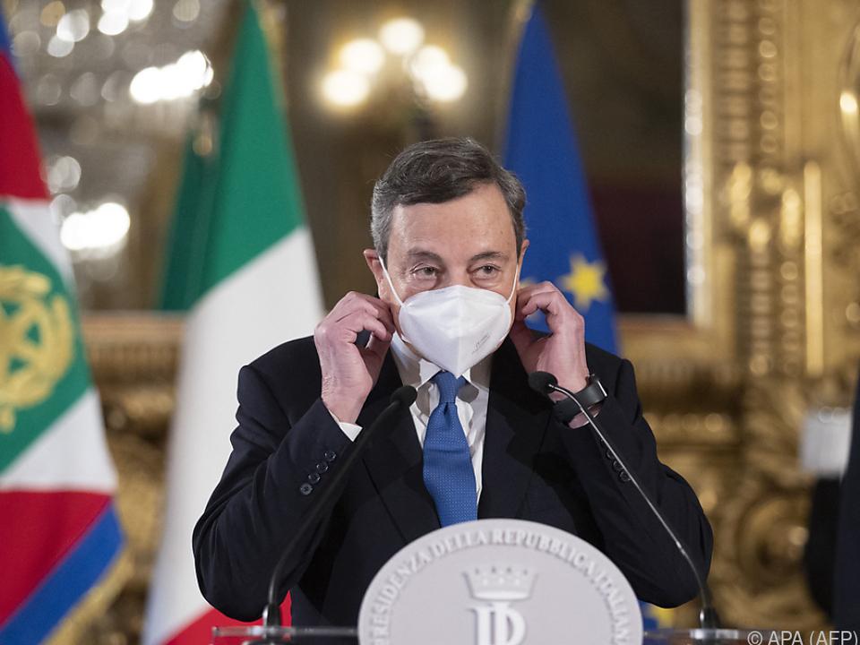 Draghi informierte Mattarella über Ministerliste