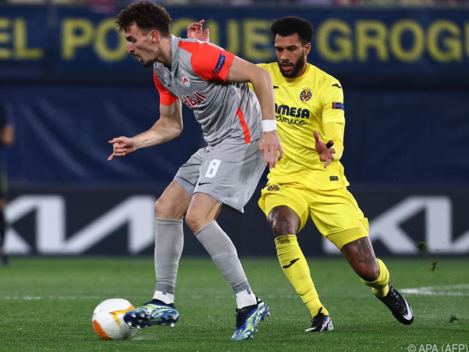 Ein früher Treffer von Berisha war für Salzburg zum Aufstieg zu wenig