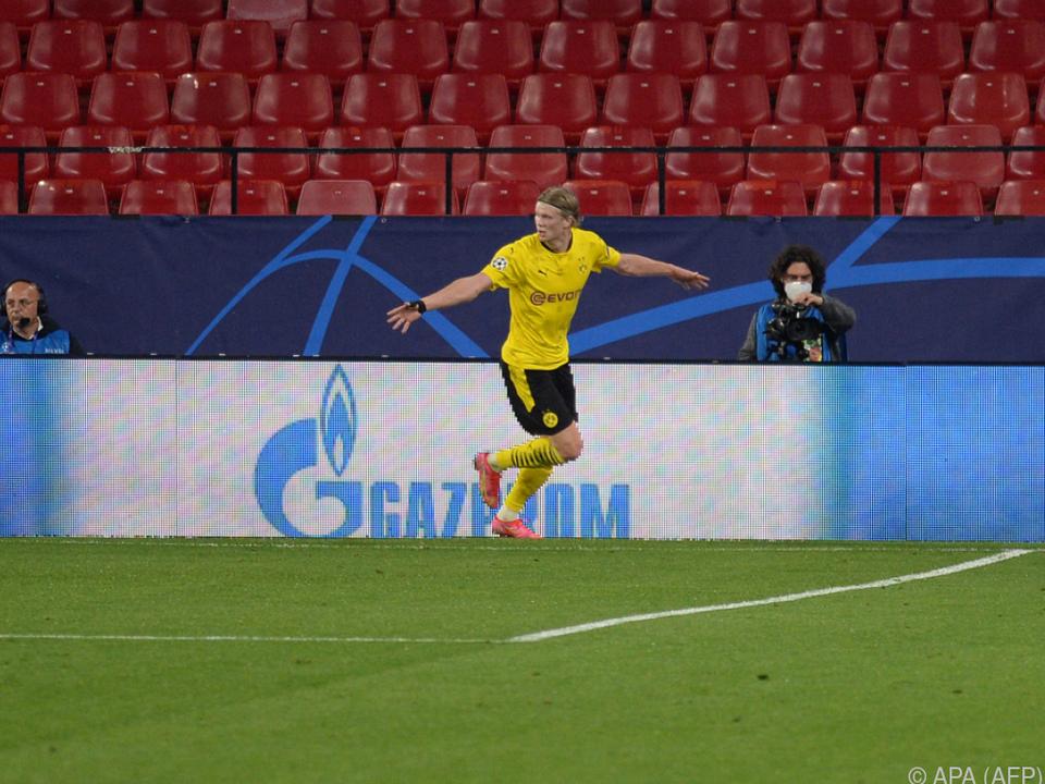 Erling Haaland schoss Dortmund zum Sieg in Sevilla