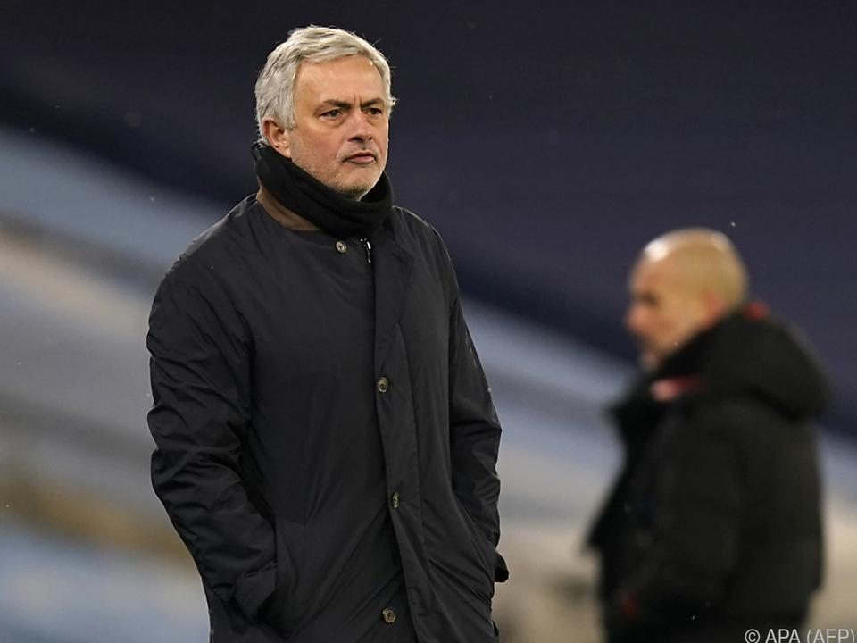 Es geht bergab für Jose Mourinho und seine Spurs