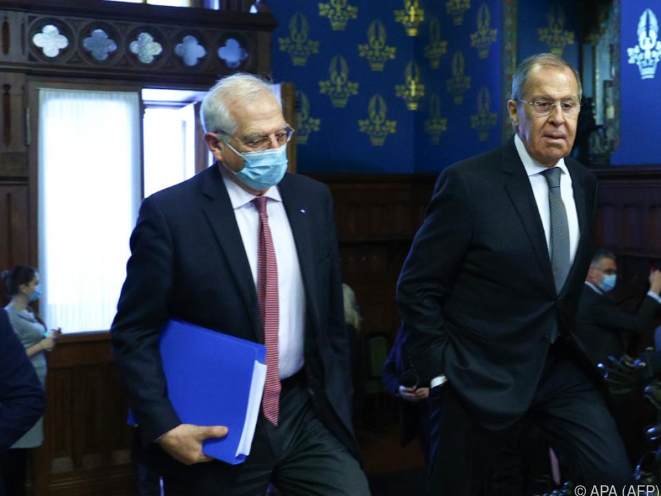 EU-Außenbeauftragter zu Besuch bei Außenminister Lawrow