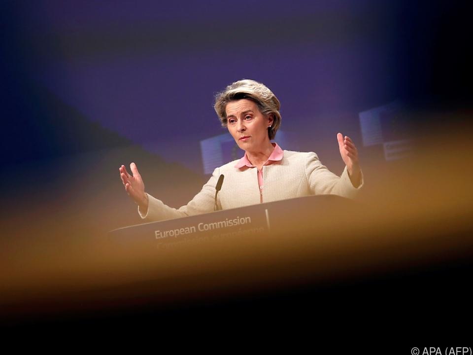 EU-Kommissionspräsidentin geht im Impfstoffstreit in die Offensive