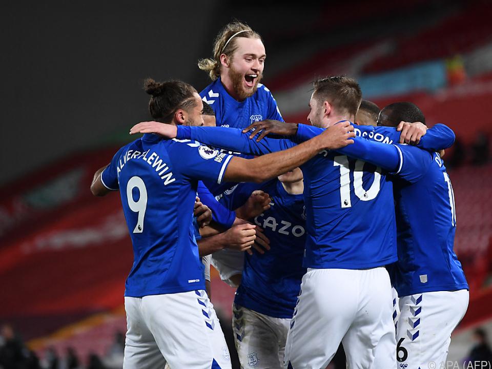 Everton stürzte Liverpool noch tiefer in die Krise