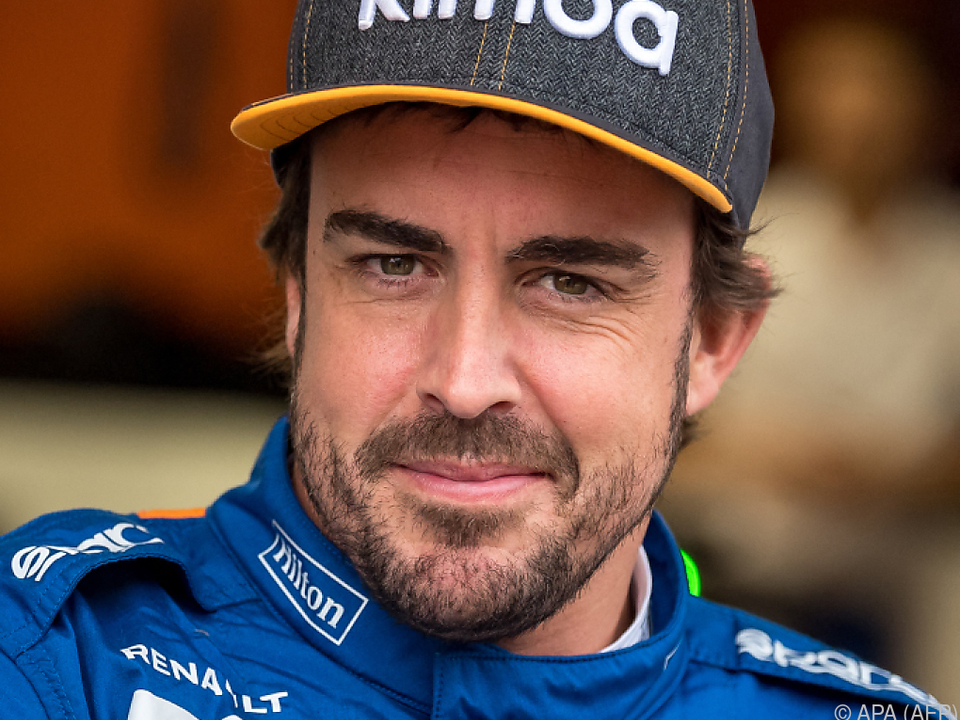 Ex-Weltmeister Alonso erlitt einen Radunfall (Archivbild)