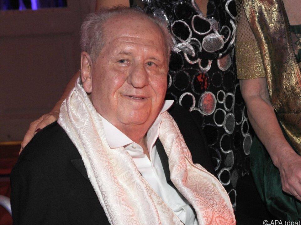 Film- und Fernsehproduzent Karl Spiehs (hier 2010) feiert seinen 90er