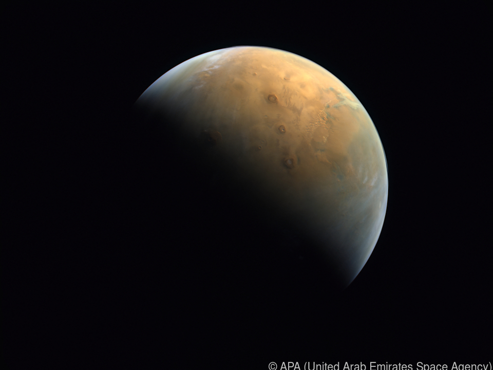 Foto entstand 25.000 km über der Planetenoberfläche