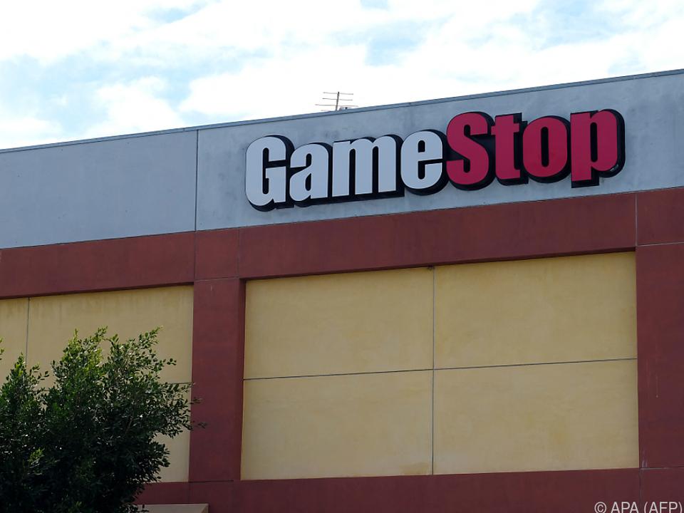 GameStop-Aktien lagen Donnerstagfrüh bei 125 Euro