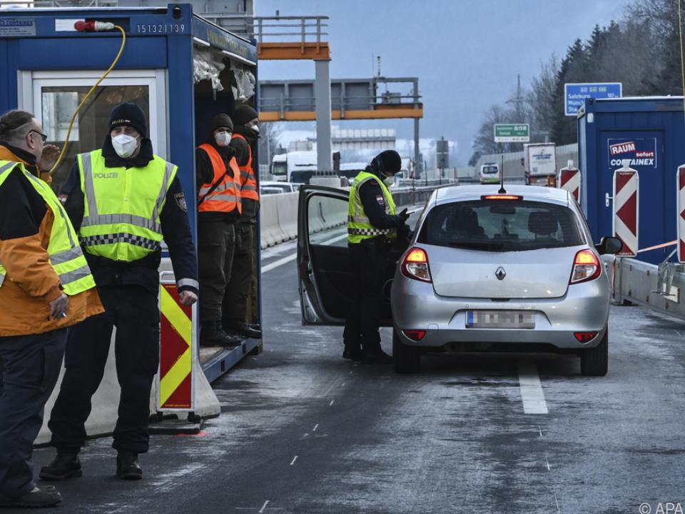 Grenzkontrollen bei Kufstein