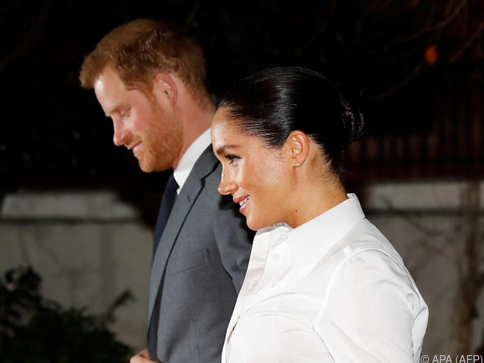 Harry und Meghan erwarten ihr zweites Kind