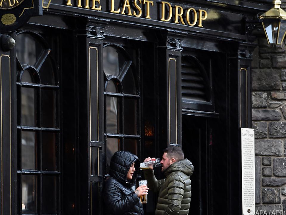 Harte Zeiten für Pubs