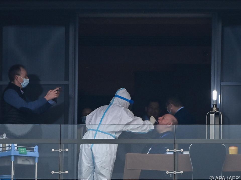 Hier war der Pandemie-Auslöser auch nicht: WHO-Experten in Wuhan