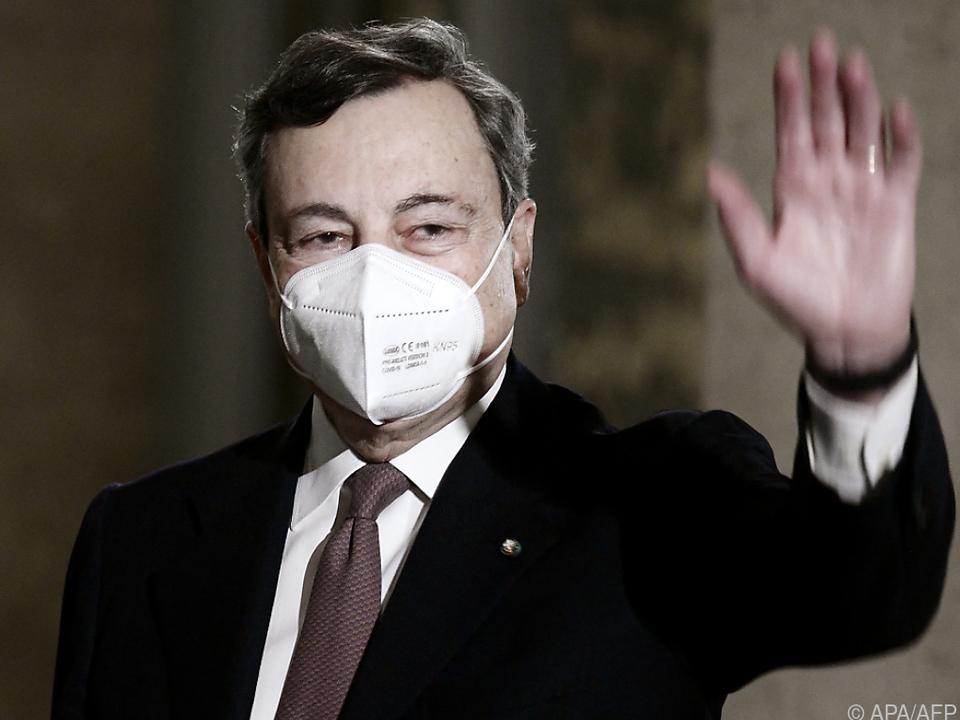 Italiens neuer Premier Draghi