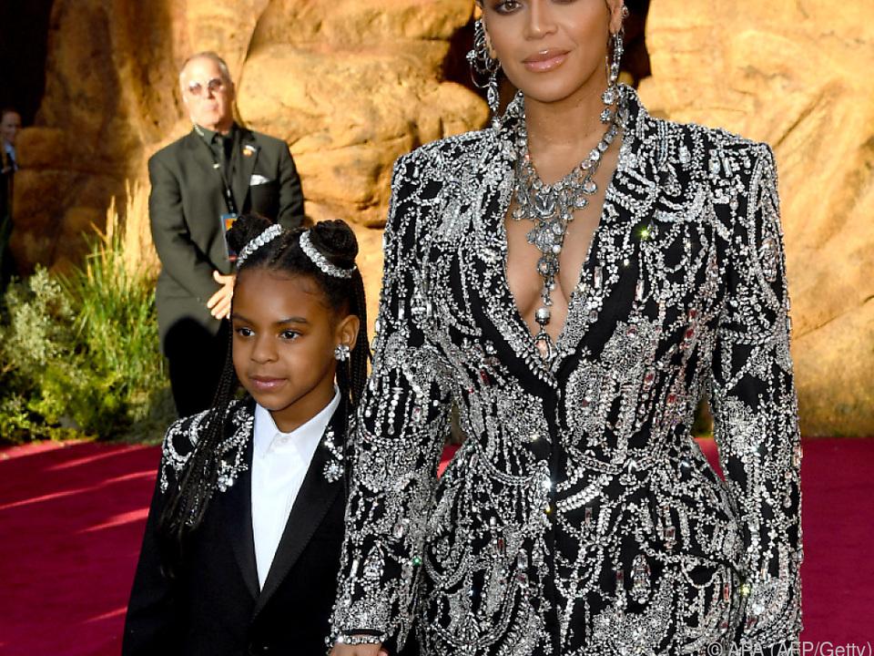 Ivy Carter mit ihrer Mutter Beyonce
