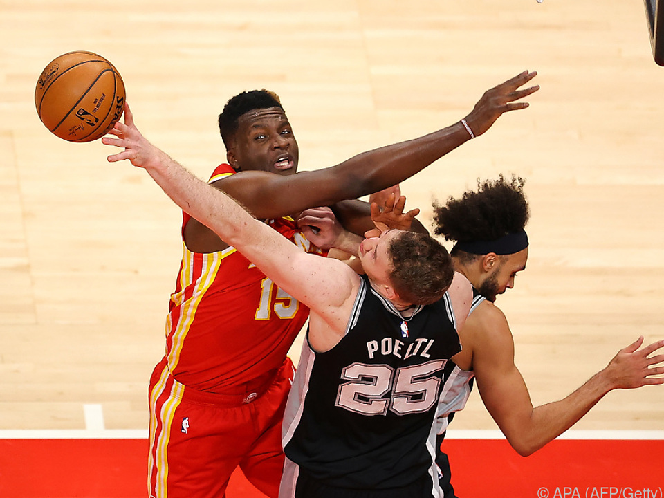 Jakob Pöltl hält bei zwölf Double-Doubles in der NBA