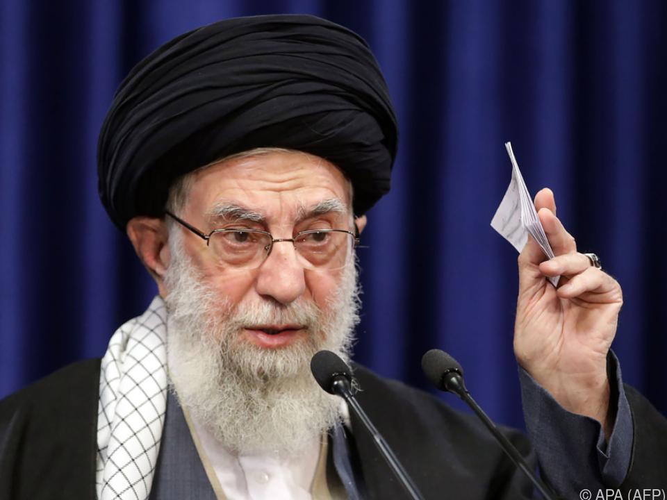 Khamenei signalisiert im Ringen um Atomdeal Härte