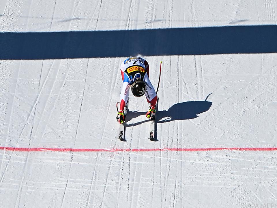 Lara Gut-Behrami gewann in Cortina erstmals Gold