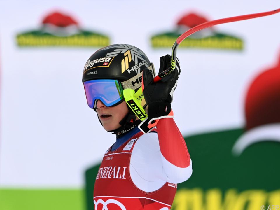 Lara Gut gewann auch zweiten Super-G in Garmisch